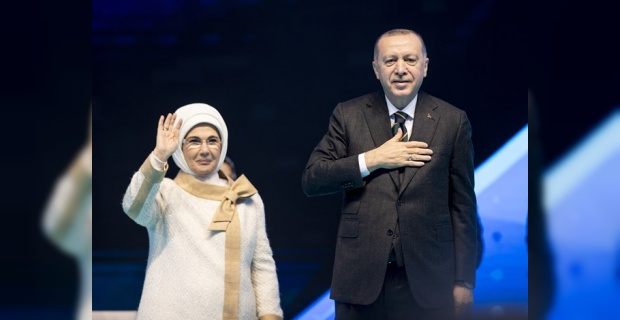 """Erdoğan """"21'inci yüzyılı ve ötesini kuşatacak büyük ve güçlü Türkiye'yi inşa ediyoruz"""""""