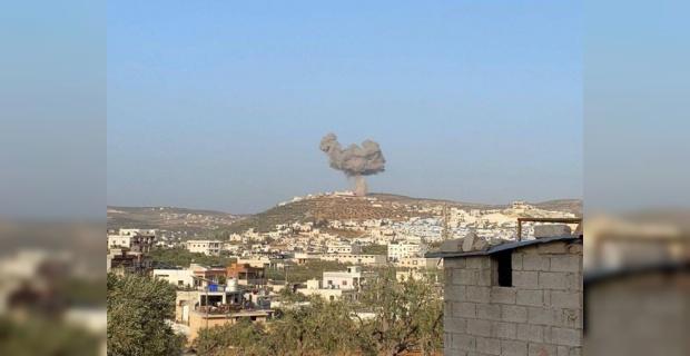 Esed rejimi füzelerle TIR parkını hedef aldı
