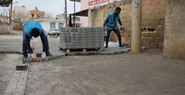 Haliliye Belediyesi,4 mahallede yol yapım çalışması yapıyor
