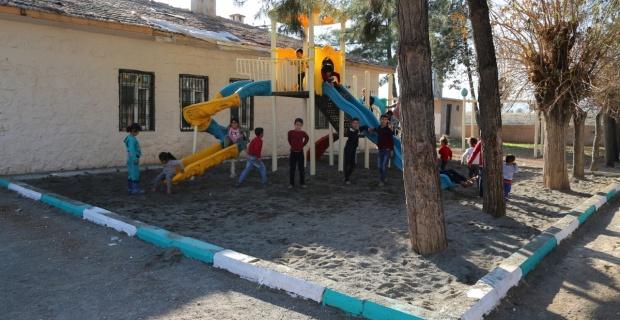 Haliliye'de çocukların yüzünü güldüren çalışmalar,etap etap devam ediyor.
