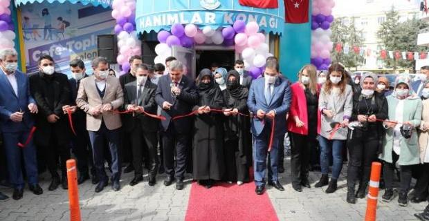 Haliliye'de Hanımlar Konağı açıldı
