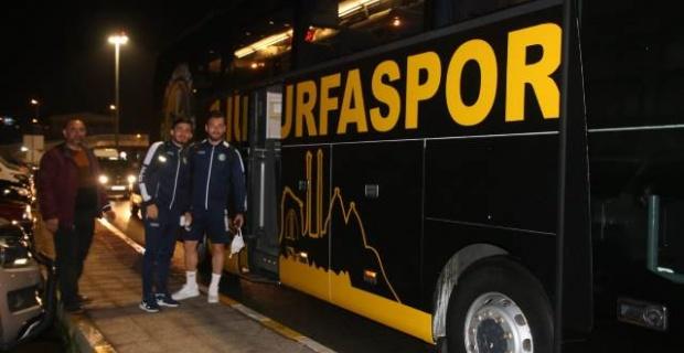Şanlıurfaspor Gümüşhanespor maçı için Trabzon'da.