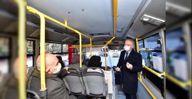 Vali Gül vatandaşlara Pandemi kurallarını hatırlattı.