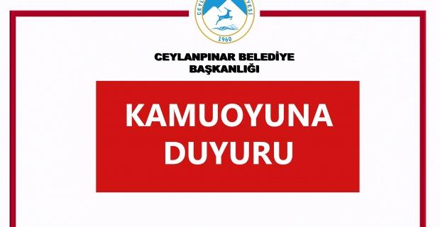 """Ceylanpınar Belediye Başkanı Feyyaz Soyludan """"Asılsız Habere"""" suç duyurusu"""