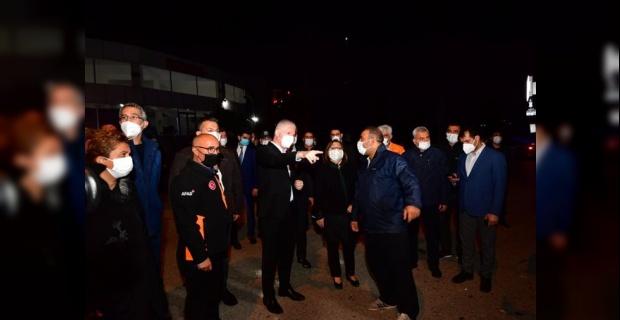 Gaziantep Valisi Gül,geçmiş olsun dileklerini iletti.