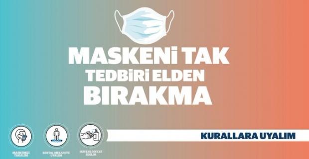 """Mardin Valisi Demirtaş """"Maske Mesafe Temizlik kurallarına dikkat edelim"""""""