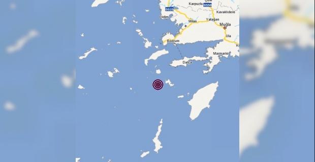 Muğla Datça açıklarında 3.7 büyüklüğünde deprem