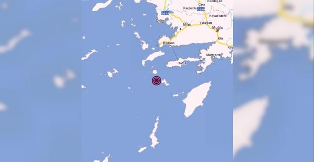 Mugla Datça merkezli 4.8 büyüklüğünde deprem