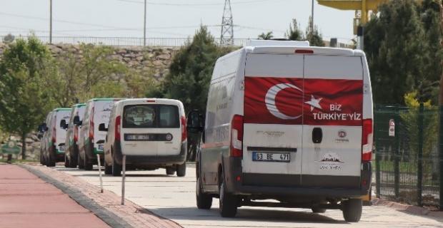 Şanlıurfa Büyükşehir Belediyesi,her gün 4 bin ailenin iftarlarını gönül rahatlığıyla yapmalarını sağlıyor.