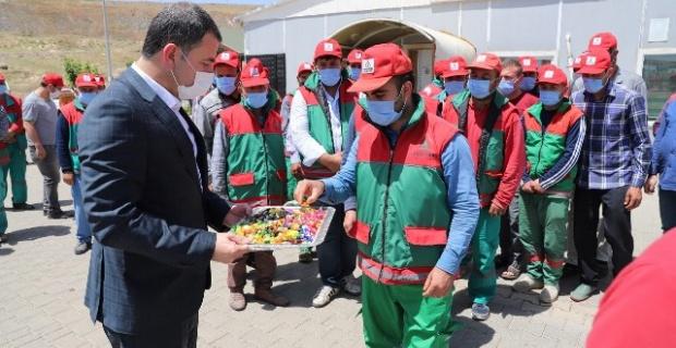 """BAŞKAN BAYDİLLİ"""" SİZLER BENİM AİLEMSİNİZ"""""""