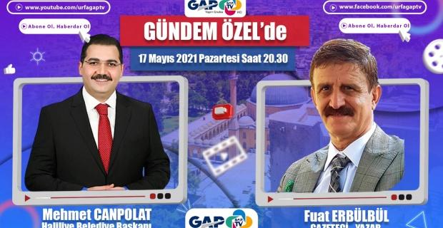 Başkan Canpolat GAP TV'de