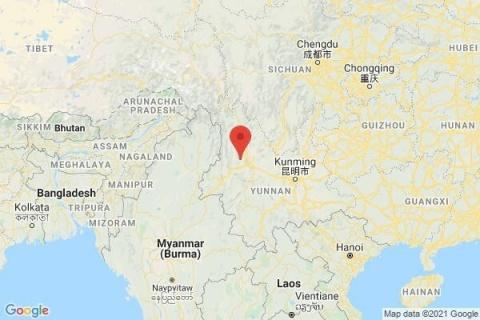 Çin'de 7.4 büyüklüğünde bir deprem meydana geldi.