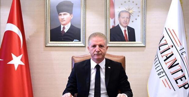 """Gaziantep Valisi Gül """" Kadir Gecemiz mübarek olsun"""""""