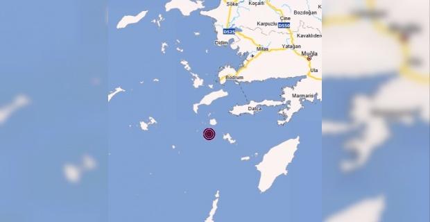 Muğla'nın Datça ilçesi açıklarında 4.0 büyüklüğünde deprem meydana geldi.