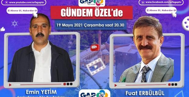 Şanlıurfaspor Başkanı Yetim, GAP TV'de