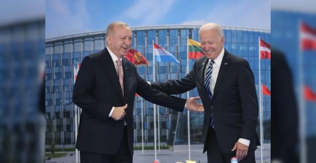 Cumhurbaşkanı Erdoğan ABD Başkanı Joe Biden ile bir araya geldi.