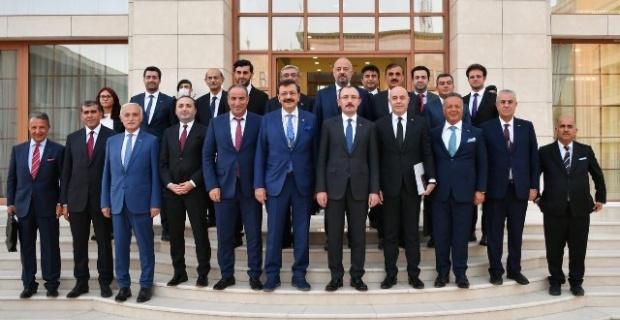 Altunkaya Ticaret Bakanı Muş'un Irak Heyetinde Yer Aldı