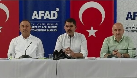 """Bakan Kurum """"Milletimizin devletimize güveni tamdır"""""""