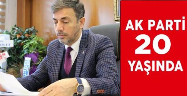 Milletin partisi AK Parti 20 Yaşında.