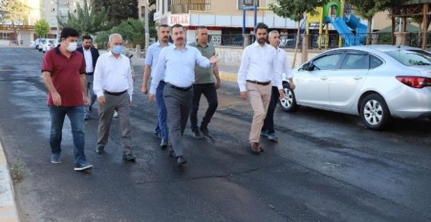 """Başkan Baydilli """"adım adım yürümediğimiz bir sokak yok"""""""