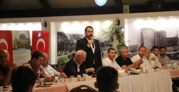 """BAŞKAN BAYDİLLİ""""DEN KARAKÖPRÜ BELEDİYESPOR'A DESTEK"""