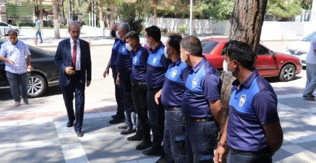 """Başkan Yalçınkaya """"Zabıta bir belediyenin eli, ayağı, her şeyi"""""""