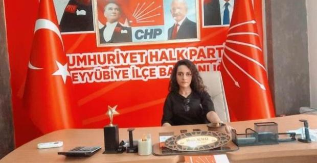 CHP Eyyübiye İlçe Kadın Kolları Başkanlığına Beyzanur Sandıkçı Getirildi