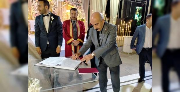 CHP İl Başkanı Cidir Gülel Ailesinin Düğün Törenine Katıldı