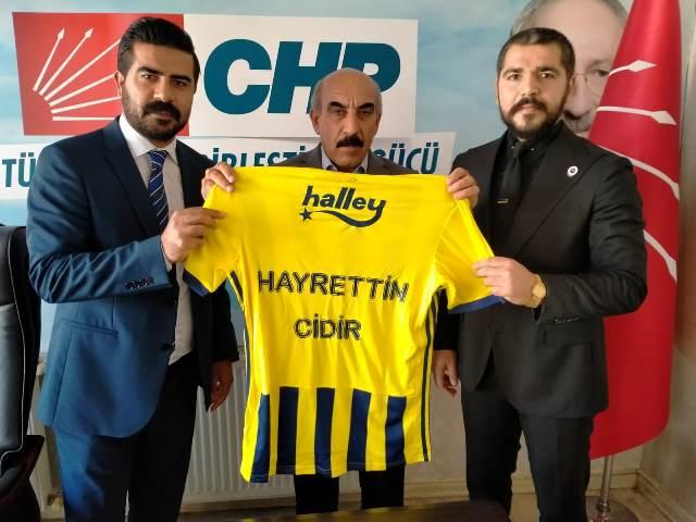Fenerbahçeliler Derneği'nden CHP Şanlıurfa İl Başkanlığına Ziyaret