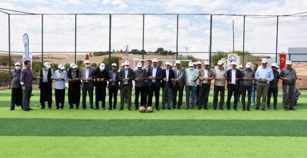 Hilvan Belediyesi Yeni Bir Semt Sahasının Açılışını Yaptı