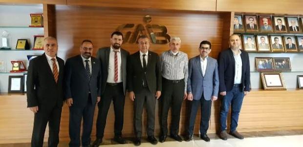 ASSİAD'tan GAİB Başkanı Kileci'ye Ziyaret