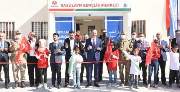 Barış Pınarı Bölgesindeki Spor Tesisleri Hizmete Açıldı