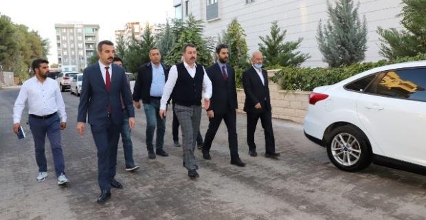 """BAŞKAN BAYDİLLİ """"SORUNLARI YERİNDE TESPİT EDİYORUZ"""""""