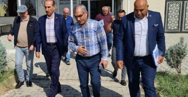 """Başkan Yalçınkaya """"Akçakale'nin turizmde hak ettiği noktaya gelmesi için çalışıyoruz"""""""