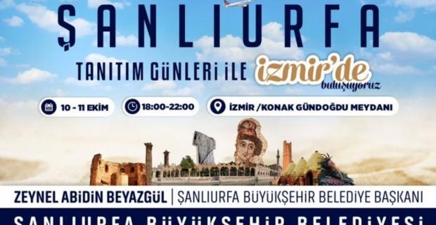 """BÜYÜKŞEHİR, İZMİR'DE """"ŞANLIURFA TANITIM GÜNLERİ"""" DÜZENLEYECEK"""