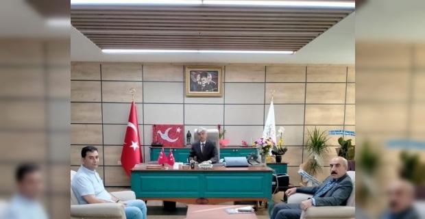 CHP İl Başkanı Cidir, Milli Eğitim Müdürü Fevzi Kurt'u Ziyaret Etti