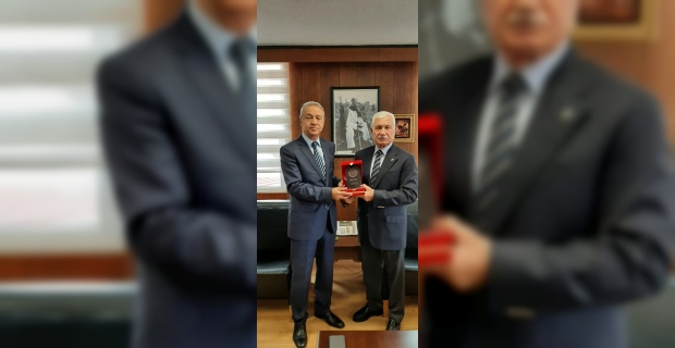 ŞANVAK'dan Prof. Dr. Haluk Yetkin'e Ziyaret