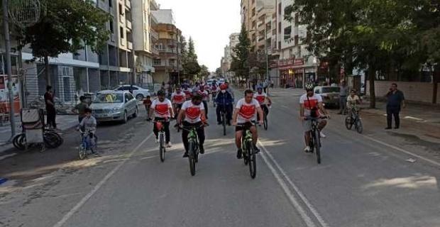 Suruç Belediyesi tarafından ilçede ilk defa Bisiklet turu düzenlendi.