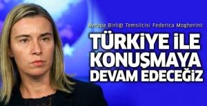 Türkiye ile konuşmaya devam edeceğiz