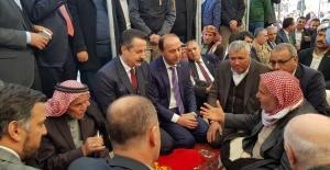 Çelik,Harran'da Şehit Ailesine Taziye...