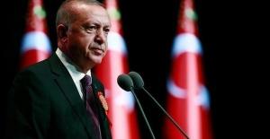 Cumhurbaşkanı Erdoğan'dan Cumhuriyet...