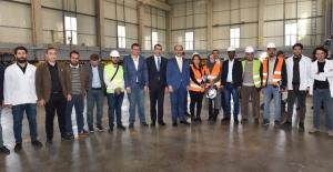 """Vali Erin """"yatırım için Şanlıurfa'ya gelenlere her türlü desteği sağlıyoruz"""""""