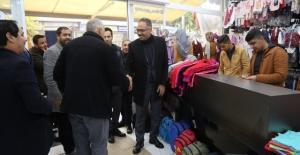 """Başkan Kuş """"Eyyübiye Belediye Başkanı olarak değil, hizmetkar olarak geliyoruz."""""""