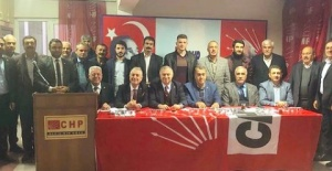 CHP Şanlıurfa Heyeti Şanlıurfa'daydı.