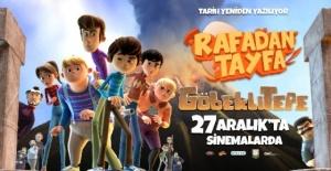 Rafadan Tayfa ekibi,Göbeklitepe#039;de