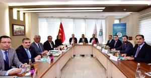 Adıyaman Valisi Pekmez,İpekyolu Kalkınma Ajansı Toplantısına Katıldı.