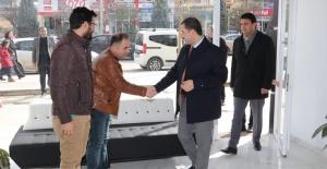 Başkan Baydilli,Mehmet Hafız Bulvarında Esnafı Ziyaret Etti.