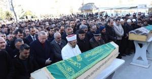 Cumhurbaşkanı Erdoğan Civelek Ailesinin cenaze törenine katıldı.