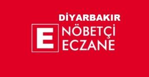 Diyarbakır'da nöbetçi eczaneler;