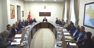 Kilis'te Uyuşturucu ve Bağımlılıkla Mücadele Değerlendirme Toplantısı